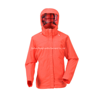 BF-JK-034T nylon honey taslon womens waterproof light weight jacket
