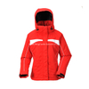 BF-JK-015PS Twill polyester pongee Womens waterproof ski jacket