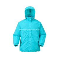 BF-JK-006N Womens nylon lightweight rain jacket