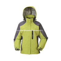 BF-JK-012PR Polyester ripstop Womens 3 in 1 waterproof jacket