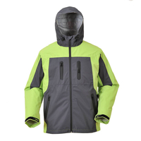 BF-SL-001PS Micro fiber waterproof 3 layer jacket