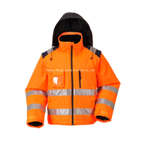 BF-JK-027O 300D Polyester Oxford Reflective Safety Jacket