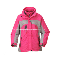 BF-JK-019PS 3 in 1 Micro fiber womens jacket
