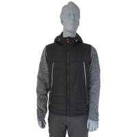 BF-PJ-007 Fashion Mens Knitted Padded Jacket